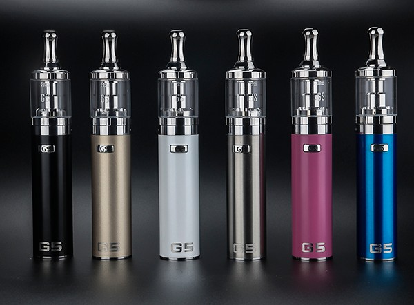Wholesale e cigs ego e cig starter kit G5 AIO design vape ecigs accessories from Greensound vaping e cigs