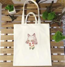 High quality wholesale canvas blank plain two-way cotton tote shoulder bag