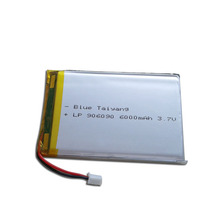 6000mah lithium polymer pack po rechargeable china li-ion battery