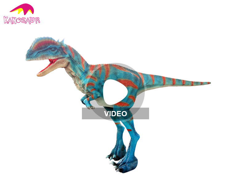 KANO-156 Customized Jurassic Theme Show Hidden Leg Raptor Costume