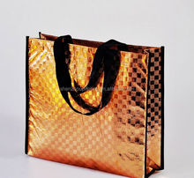 China supplier hot sale non woven shopping bag/pp non woven bag/non woven metallic tote