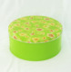 Round Butter Cookie Packing Tin Container, Metal Tin Box for Cookie