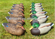 Green head gear decoys teal duck decoy outdoors hunting XPE foam duck decoy