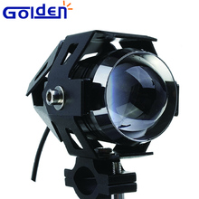 125W Driving Spot Fog front Lamp led police motorcycle head lights