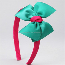 fashion polyester ribbon baby amour headbands