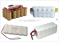 Hot new nicd battery pack 3.6 V/7.2V /9.6v/12v