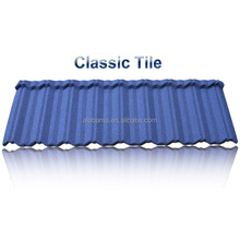 Light weight but strong factory stone coated metal roofing tile, zinc coated corrugated roofing, galvanized metal roofing tile