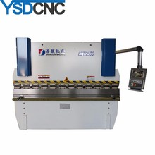 factory price iron sheet bending machine,manual metal break with ysdcnc brand, plate bending machine drawing