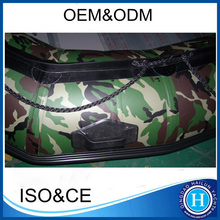 aluminum floor 5.1 Meters inflatable boat sport boat Hypalon /PVC material for sale