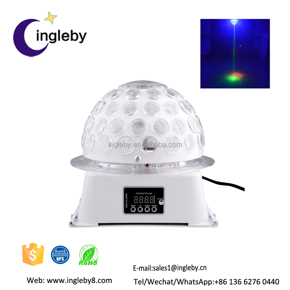 Top selling multi effects led laser 2in1 led mushroom stage light