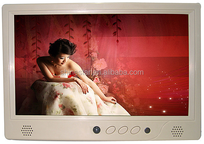 WIFI 3G network 9 inch LCD advertising POP monitor with IR motion sensor for supermarket shelf