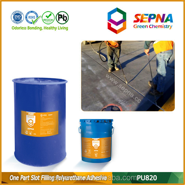 industrial chemicals adhesive UV resistance acid resistance good extension/compression recovery pu sealant