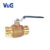 "1/2"" - 4"" Inch Press x Press Valogin Double O-Ring Lead Free Brass Press Fit Ball Valve"