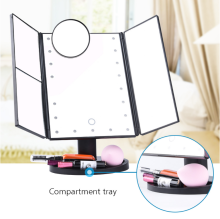 Factory Directly makeup mirror with light and led makeup mirror have a good quality