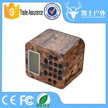 Sounds clear mp3 speaker for hunting bird , 50w hunting tool , 150dB eagle decoy with power-off memory timer