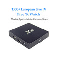 Quad Core KODI 16.1 X96 amlogic s905x android tv box digital satellite receiver the set-top box android digital tv tuner