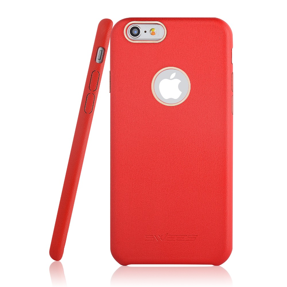 Case for iphone 6S with PU Leather material Shell Scratch-resistant Protectve Back Cover for Apple iPhone 6 / 6s 4.7 inch