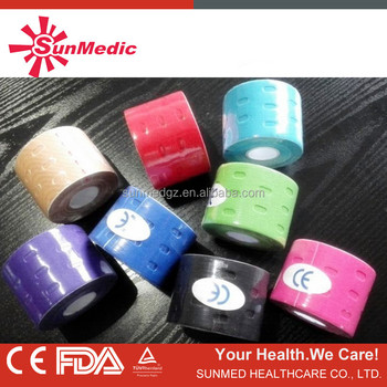 Waterproof CE Approve Kinesiology Tape,Adhesive Tape.