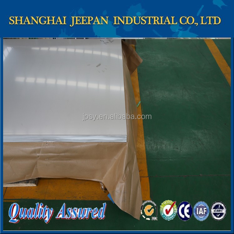 Shanghai Jeepan ISO TISCO ss 310S stainless steel sheet / plate price