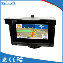 On promotion auto racing 5 inch screen gps waterproof motorcycle gps navigator
