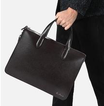 Cheap Price Pure Leather Handbags Italian Leather Bags for Men