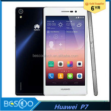 Hot huawei p7 mobile phone 5.0 inch Quad Core 1.8GHz 8.0 MP 13.0 MP Camera RAM 2GB ROM 16GB 4G Phone alibaba china