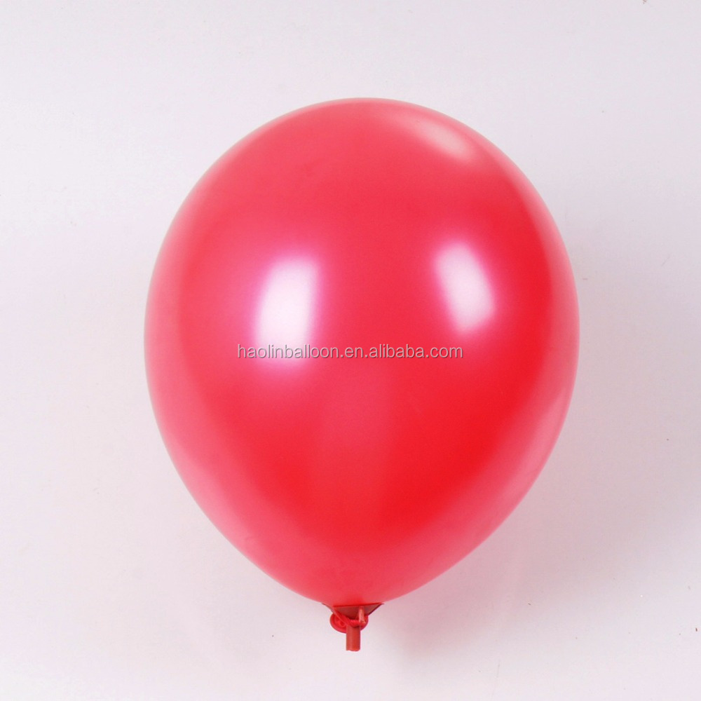 metallized different size non latex balloon