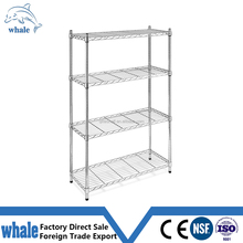 NSF approved household chrome plated wire basket shelving