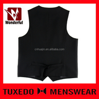 Alibaba china hot sell young fashion black men vest