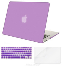 Mosiso Plastic Hard Case with Keyboard Cover with Screen Protector for MacBook Air 11/13, Light Purple