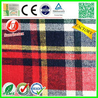 customized popular yarn dyed cotton fabric factory