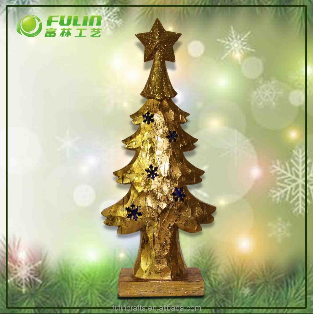 Bulk Personalized Polyresin Christmas Tree ornament