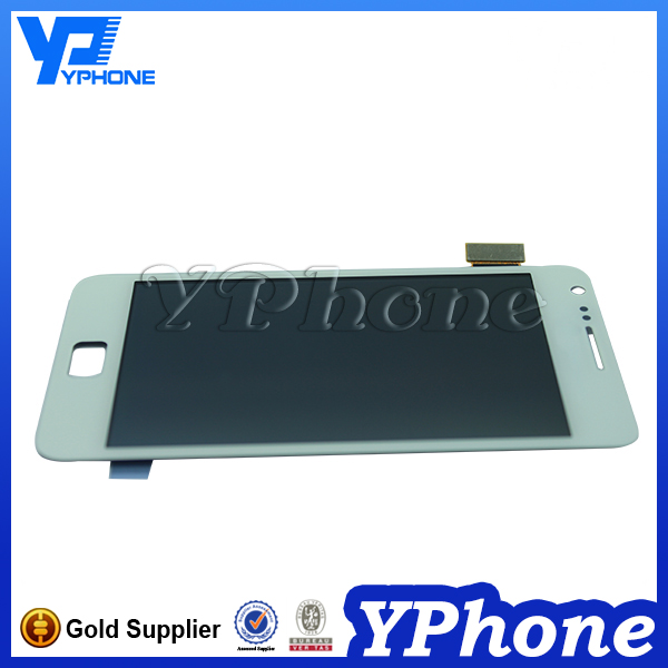 Cell phone spare parts for samsung galaxy s2 i9100 lcd screen assembly, original lcd for samsung s2