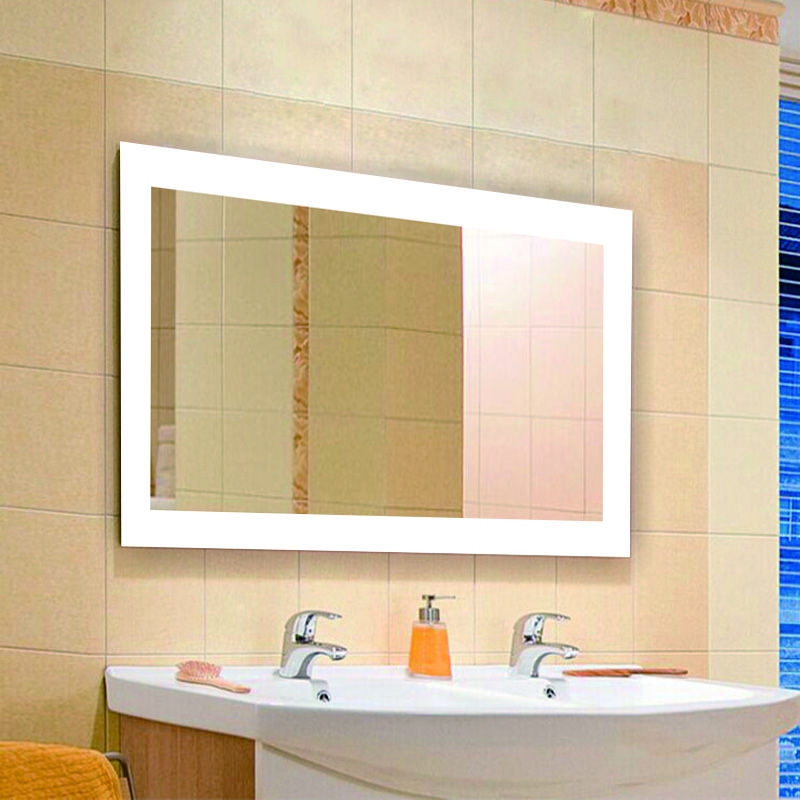 "Standard Size W48""xH36"" Size 36""x36"" Bathroom Vanity Design Illuminated LED Bathroom Mirror"