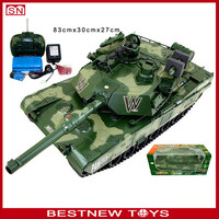 Hot sales! Military vehicles RC tank 1/6 with light