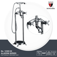 Modern design toilet bath faucet with hand shower set