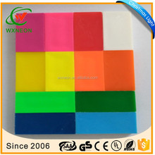 2016 hot sell free samples colored plastic dominoes