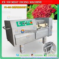2014 Meat cube cutting/cutter machine|Stainless Steel Fresh Meat Cube Cutting Machine|Meat Dicer Cutting Machine