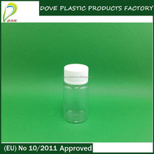 50 ml pet bottle 50ml bottle with plastic cap for weight loss supplement