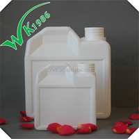 Heart shapes 250ml and 1L empty PE airtight vials Plastic Bottle