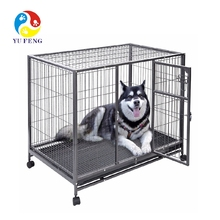 Hot sale on Amazon wholesale stainless steel dog crate xxxl dog crate