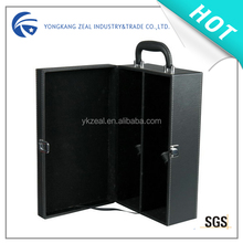 ZS501 PU Leather Promotional gift boxes for wine bottles