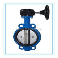 D371X / DN40-1200mm Worm Gear Wafer type Butterfly Valve