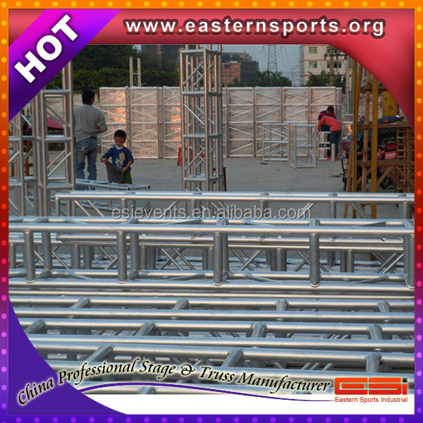 ESI 2016 stronger&durable Heavy Duty lighting truss tower system/sound and light truss system
