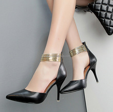 Fashion lady high heel shoes wholesale women shoes