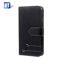 2018 Flip PU Case Wallet Leather Retro hit color leather case Magnetic Protective Cover with Card Slots for iphone 7