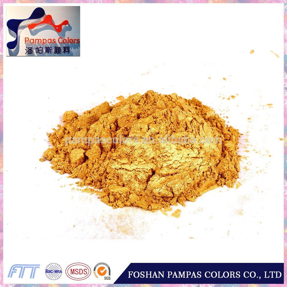 pigment for ceramic green gold pigment