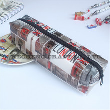 wholesale Direct from China Recycled PVC Pencil Bag with Promotional printing