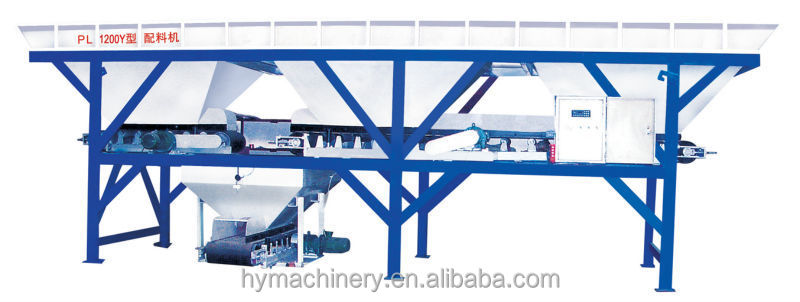 PL1200 Batcher for Concrete Block Making Line