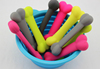 Lovely Puppy Dog Treat Training Silicone Single Bones pet accessory